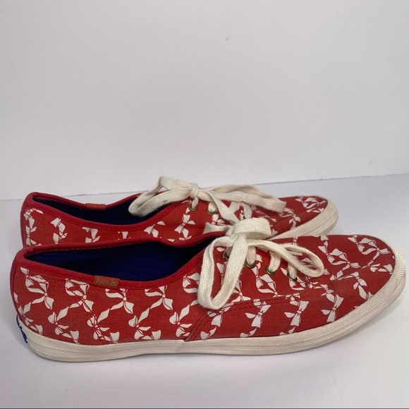 Keds Taylor Swift Red Bow women's 9 shoes low top